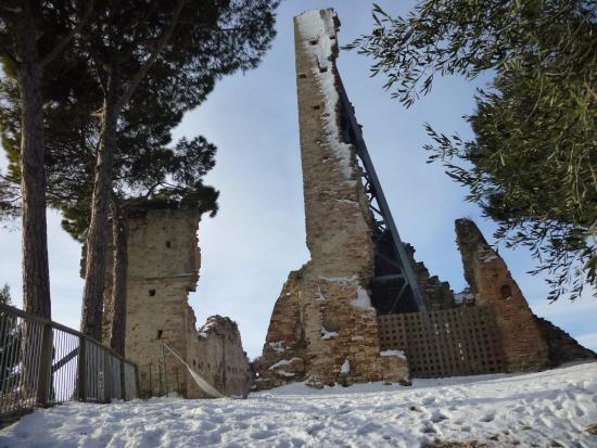 Cupra Marittima, Italy: La nevicata del 2012