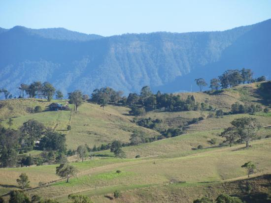 Limpinwood, Australia: View from the hill