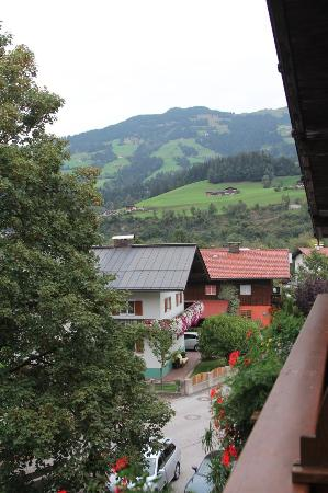 Appartements Strobl: View from our room's terrace.