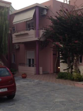 Hotel Sea Side: Hotellet med vårt rum