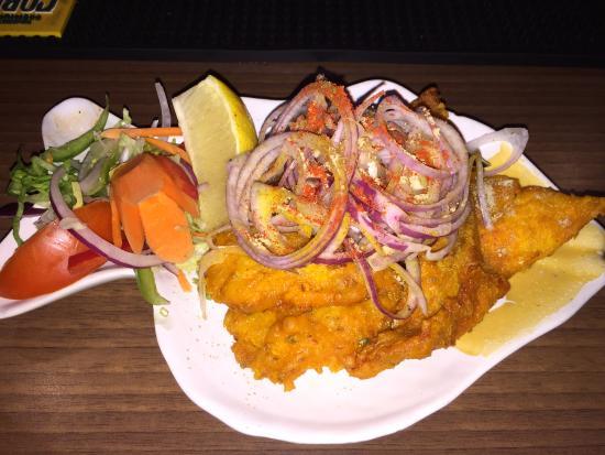 Delhi Spicee: Fish Amritsari