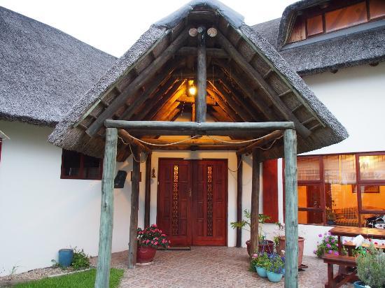 Colchester, Afrique du Sud : Eingangsbereich