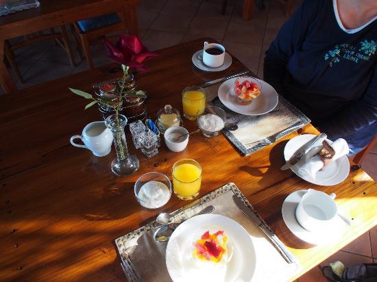 Colchester, Südafrika: Frühstück