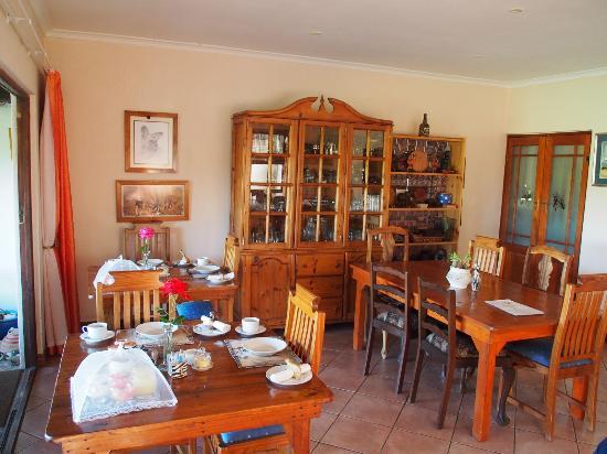 Colchester, Südafrika: Frühstücksraum