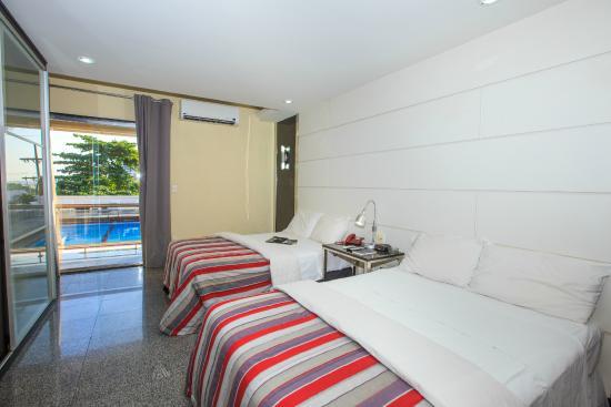 Da Vinci Hotel & Conventions: Luxo c/ 2 camas de casal