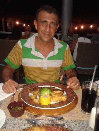 El plato del steakhouse...nada especial
