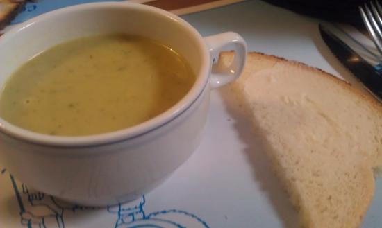 Schepdaal, Bélgica: Gratis soepje