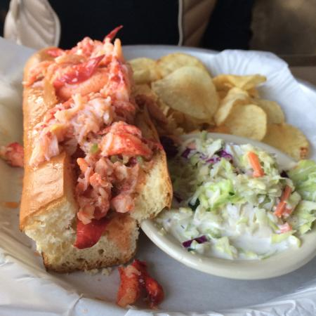 Lobster Roll Picture Of Sams Chowder House Half Moon Bay