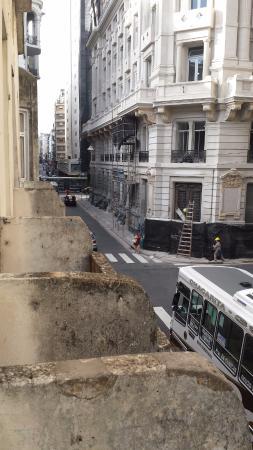 Hotel Parada: Vista de um dos apartamentos