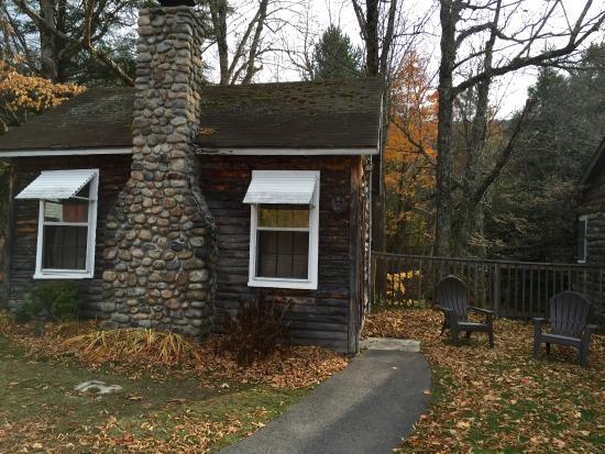 Our Cute Cabin Picture Of Pemi Cabins Lincoln Tripadvisor