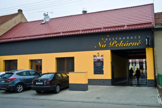 Velke Bilovice, Чехия: restaurace
