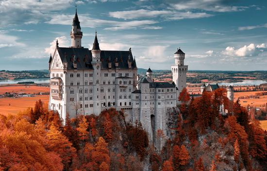Hohenschwangau, Jerman: Castello di Neuschwanstein - Baviera
