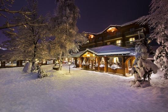 Hotel Beauregard : vue de nuit