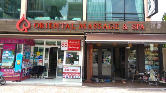 Oriental Massage Phuket: Entrance 1