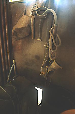 Valdicastello Carducci, Italia: particolare della miniera di barite 2
