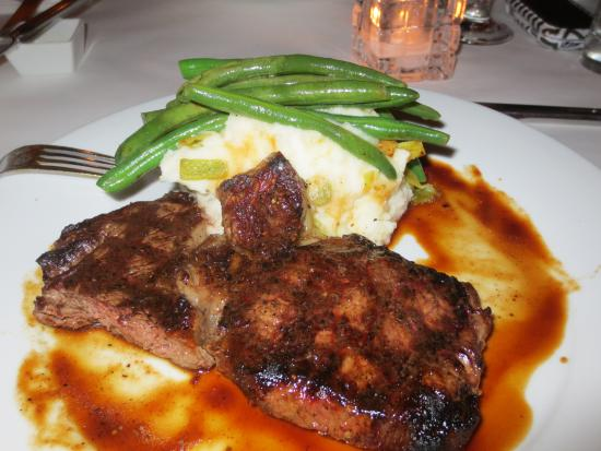 Midtown Bistro: A ribeye from a heavenly cow...