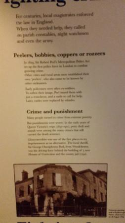 Museum in the Park: display panel