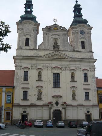 Uherske Hradiste, República Checa: Костёл Франциска Ксавьерского