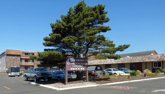 Chautauqua Lodge : Signage at property entrance