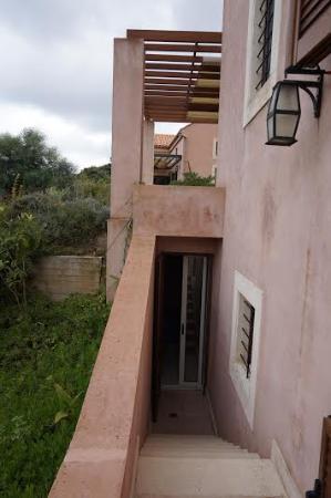 Νομός Ηρακλείου, Ελλάδα: escalier accès terrasse