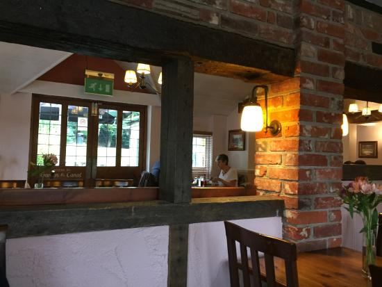 Restaurant interior picture of fox and hounds fleet