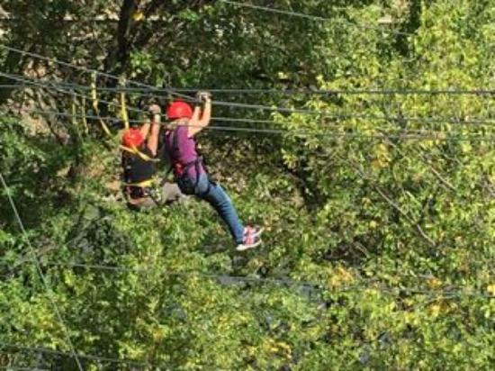 Glenwood Canyon Zipline Adventures: Ziplining for the first time