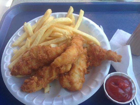 Delicious fish and chips picture of anthony 39 s fish for Anthony s fish grotto san diego