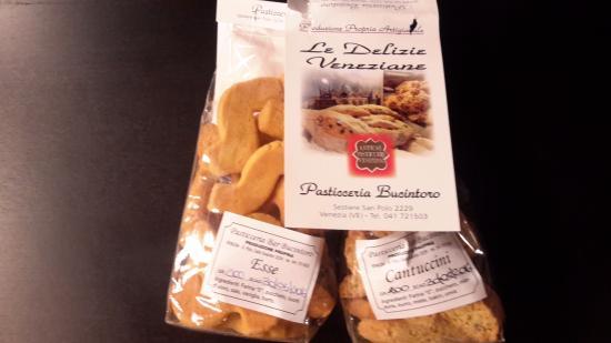 Bucintoro Pasticceria : Biscuits maison