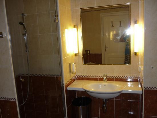 Hotel Furstenhof: ванная