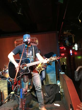Casey Edgar performing at Second Fiddle - Picture of The ...