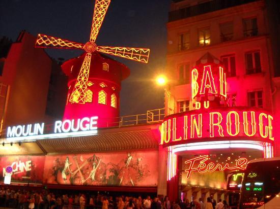 Εγώ το Παρίσι ρουζ.
