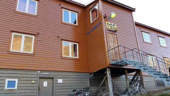Guest House 102: Вход