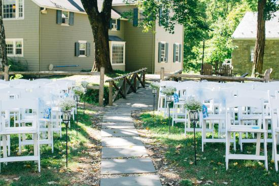 Inn at Millrace Pond: Ceremony Site
