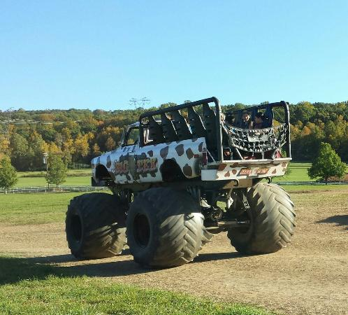 Long Valley, NJ: Monster truck rides only $5 and super powerful apple cannon!