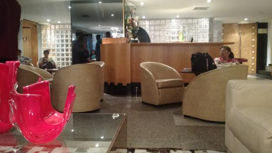 Royalty Copacabana Hotel: Recepção