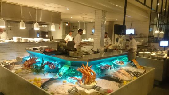 Menu picture of the seafood bar spui amsterdam for Seafood bar spui 15