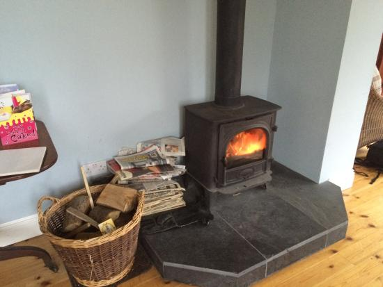 Аргайл и Бьют, UK: Log burner