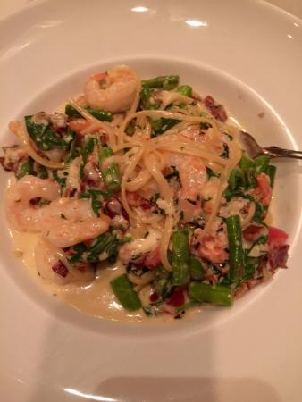 Allegro Ristorante: Pasta & shrimp
