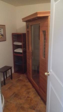 Thamesford, Canada: Infra rood sauna / cabine