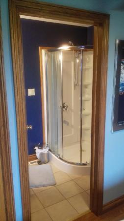 Thamesford, Canadá: Nette douche cabine in eigen slaapkamer