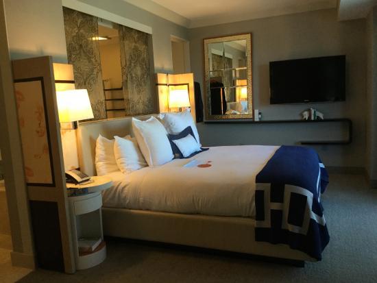 Wraparound Suite Bedroom Picture Of The Cosmopolitan Of Las Vegas Autograp