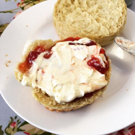 Thank You England For Clotted Cream Picture Of Looby Lu S Tearoom Buckingham Tripadvisor
