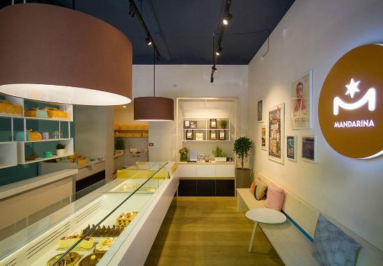Mandarina Cake Shop interior Picture of Mandarina Cake Shop