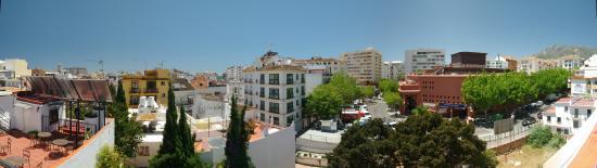 Pension Aduar: vista desde terraza