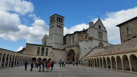 Asís, Italia: Chiesa San Francesco d'Assisi