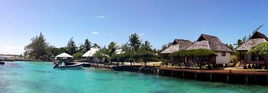 Manihi, Fransk Polynesien: Vue d'ensemble de la pension