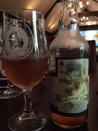 The Mystic Celt: High bank Medieval (hard) Cider (organic) - LOVE!