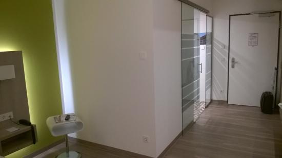 Hotel Am Kaisersaal: Вот это ванная
