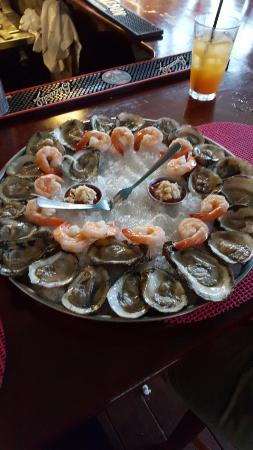 The Seafood Grille at The Waterford: $1.00 Shrimp and Oysters