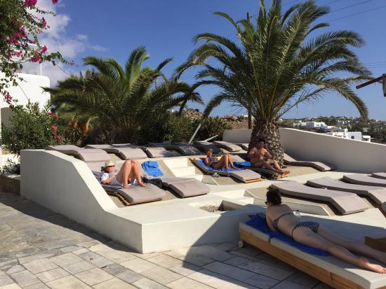 Andronikos Hotel: Àrea da piscina